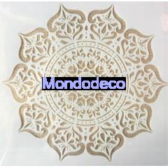 Stencil Mandala Geometria Taiji adatto alle ns decorazioni