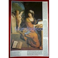 Stampa con raffigurazione della Madanno con Bambino