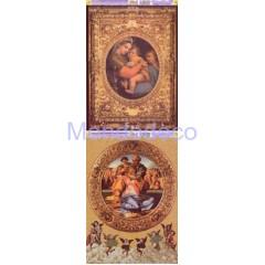 Carta per decoupage con Madonna del Raffaello