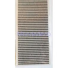 STRASS - Brillantini adesivi per decorazioni color nero