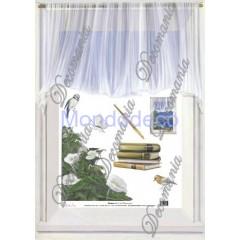 Carta per decoupage con finestra per trompe l'oeil  Illusion Deco ID3005