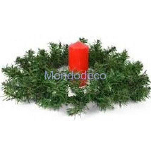 Dietroporta - Ghirlanda, o girocandela pino adatta alla decorazione
