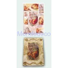 Carta per decoupage classica con immagini per affreschi