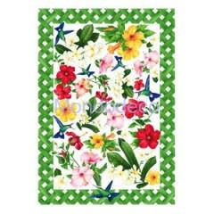Carta per decoupage classica con fiori