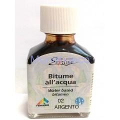 Bitume all'acqua color argento per decoupage ml. 75