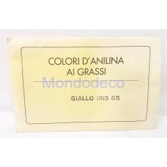 Aniline color giallo iris gg  gr. 5