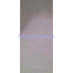Etichette adesive e decorative con stelline effetto velluto color bianco