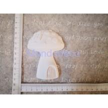 STAMPO in gomma liquida siliconica professionale - Casetta fungo in gesso resinato