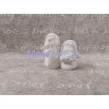 Stampo in gomma siliconica liquida professionale - GESSETTO - Presepe  3d in gesso resinato