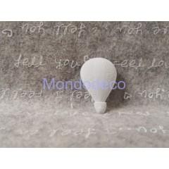 Gessetto - Mongolfiera in gesso resinato