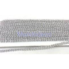 Nastro - Passamaneria in  lame color argento adatto alle ns creazioni