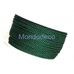Cordoncino color verdone mm. 3.50