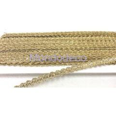 Nastro - Passamaneria in  lame color oro