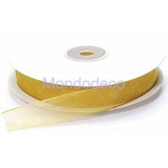 Cordoncino - Passamaneria  organza color oro adatta alle ns crezioni