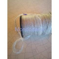 Passamaneria - Nastro in lame color argento adatto alle ns decorazioni