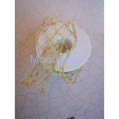 Passamaneria - Nastro retato in lame color oro datto alle ns decorazioni