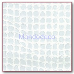 Carta di Riso - PIZZO  retato color bianco