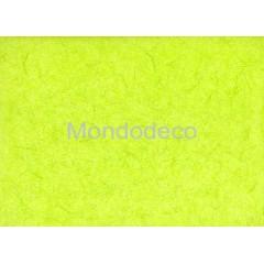 Carta di riso in tinta unita color verde acido adatto per il decoupage