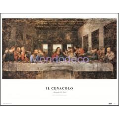 Stampa con raffigurazione Il Cenacolo (Leonardo da Vinci)