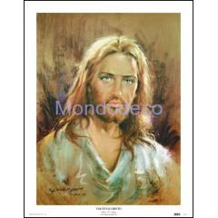 Stampa con raffigurazione del Volto di Cristo (C. Parisi)