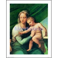 Stampa con raffigurazione Madonna del pesce (Raffaello)