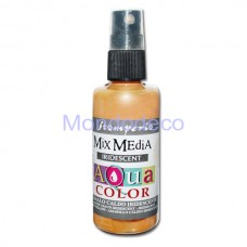 MIX Media - Aquacolor per legno 60 ml Giallo Caldo Iridescente KAQ020