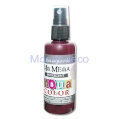 MIX Media - Aquacolor per legno 60 ml Bordeaux iridescente KAQ026