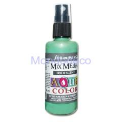 MIX Media - Aquacolor per legno 60 ml Acquamarina Iridescednte KAQ032