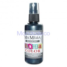 MIX Media - Aquacolor per legno 60 ml Argento Iridescente KAQ036
