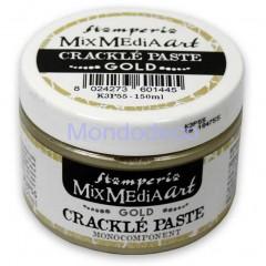 Crackle' Paste monocomponente Gold