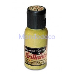 Brillantini color Giallo grana fine 20 gr.