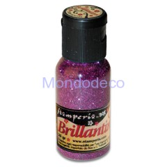 Brillantini color fucxia grana grossa 20 gr.