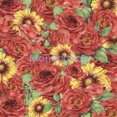 Carta per Scrapbooking - Carta Monofaccia - Rose Gazzanie SBS007