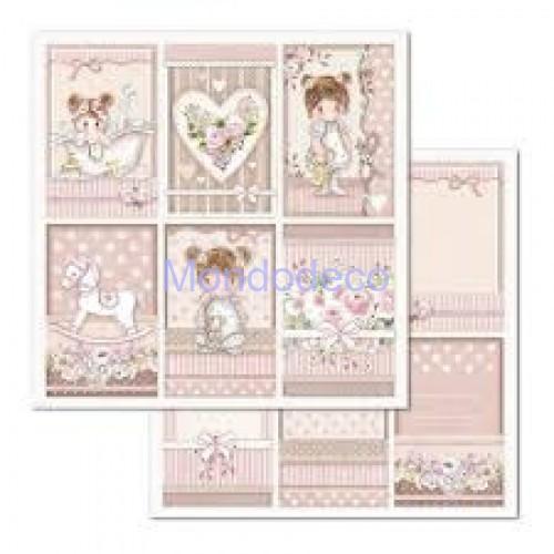 Blocco Carte Scrapbooking - Double Face Little Girl SBBL67