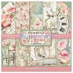 Blocco Carte Scrapbooking - House of Roses  SBBL66