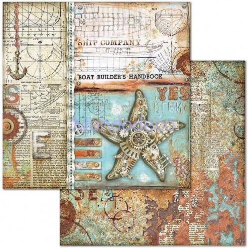 Blocco Carte Scrapbooking - Sea World  SBBL64