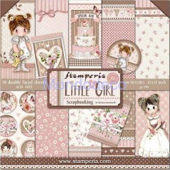 Blocco Carte Scrapbooking - Double Face Little Girl SBBL67
