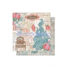 Foglio Double Face - Carta per Scrapbooking Versailles Dama SBB315