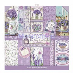 Blocco Carte Scrapbooking - Provence SBBL51