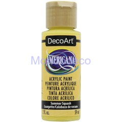 Colore acrilico Americana DecoArt DecoArt DA363 - Americana Acrylics Paint Color Summer Squash