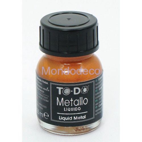 METALLO LIQUIDO - Porporina liquida color RED GLOW - 25 ML
