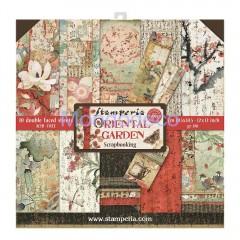 Blocco Carte Scrapbooking - Oriental Garden SBBL58
