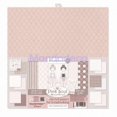 Scrapbooking Paper Pack - Pink Soul  SBBKL603