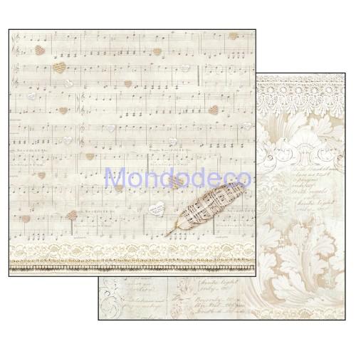 Blocco Carte Scrapbooking - Cérémony SBBL42