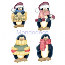 Kit Stencil Speedy Country i pinguini n. 8