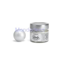 PERLACREAM - Pasta perla metalizzato color ZUCCHERO FILATO 80ml.