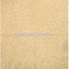 Tovagliolo per decoupage con texture su sfondo vaniglia