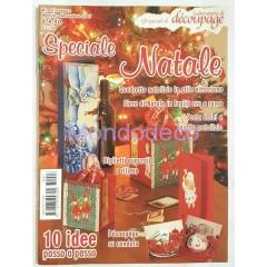 Laboratorio di decoupage n. 13 Mensile Novembre Speciale Natale